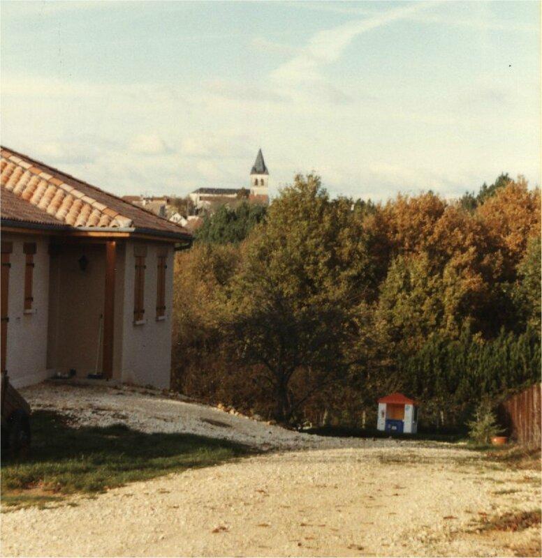 clocher vu de Longueville