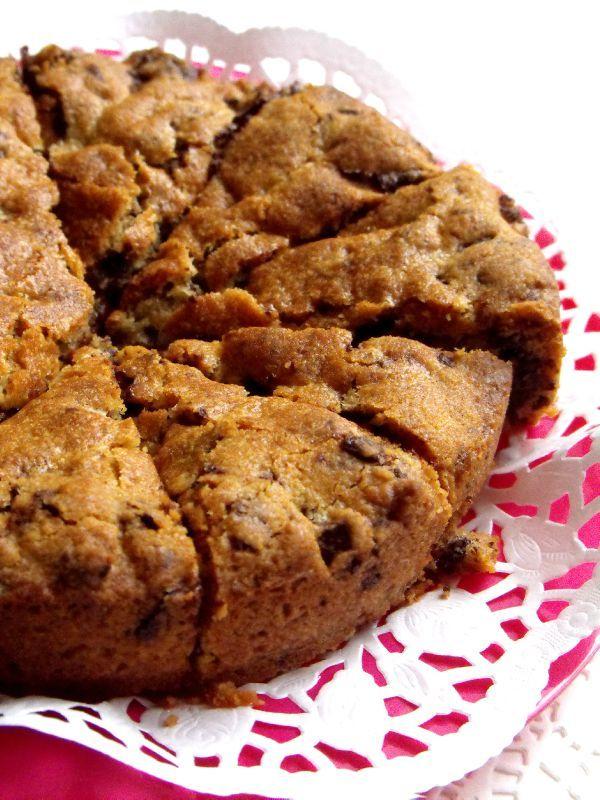 cookie géant comme un gâteauguillemette - marie's cooking le blog