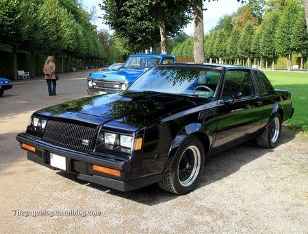 Buick regal GNX coupé de 1987 (547 ex)(9ème Classic Gala de Schwetzingen 2011) 01