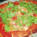 Pizza gourmande