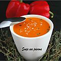 Soupe de poivrons