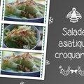 Salade asiatique croquante
