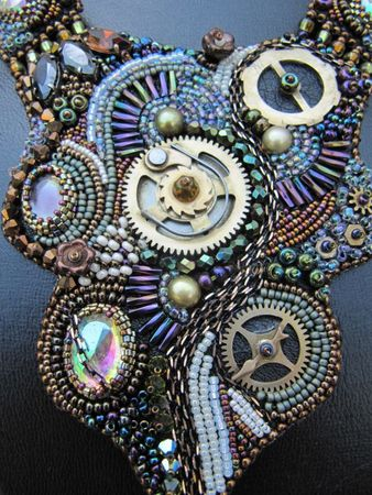 collier rouages steampunk 007