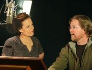 WALL•E - Sigourney Weaver (voix originale de EVE) et Andrew Stanton