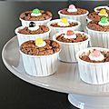 Muffins ultra moelleux au chocolat