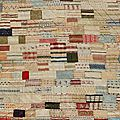 Inspirations.... silk quilted patchwork bed cover