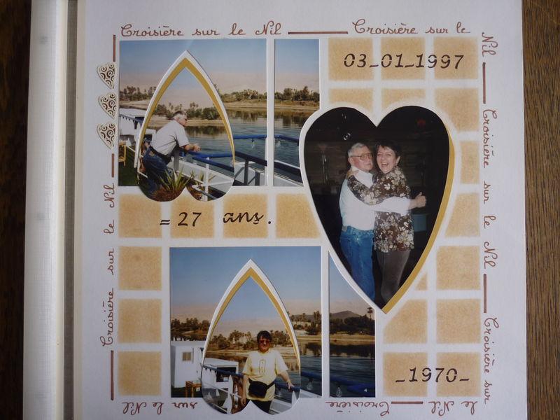 Nos 27 ans de mariage sur Le Nil