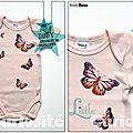 Body bébé Original - Envolée de papillons