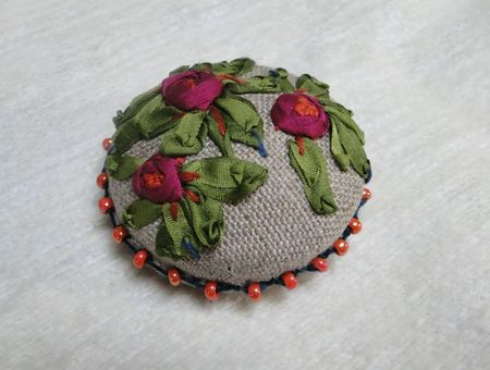 broche roses