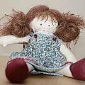 Mes premiers pas de couture... poupée de chiffon.