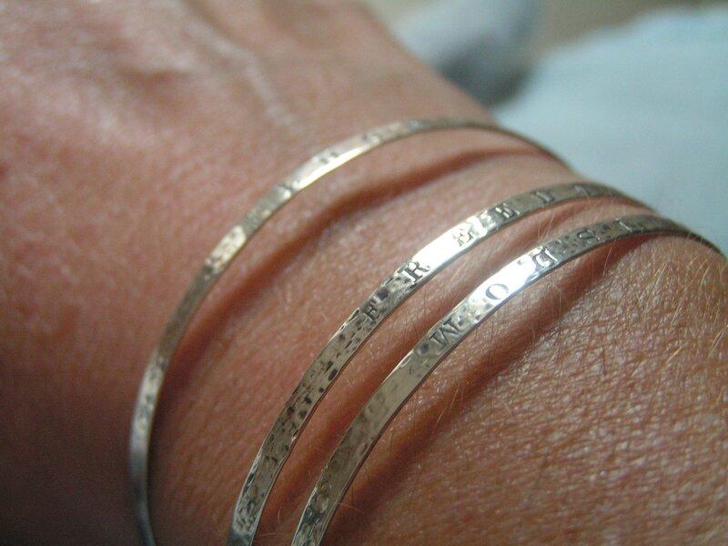 bracelets merci