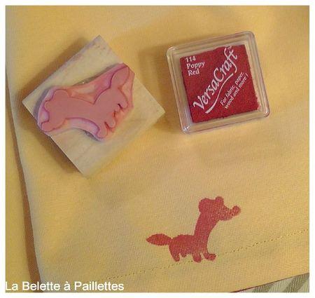 Belette stamp