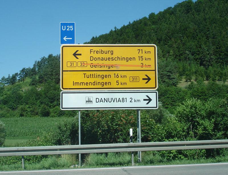 Etape 13: Freiburg & la source du Danube