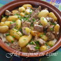 Filet mignon en tajine