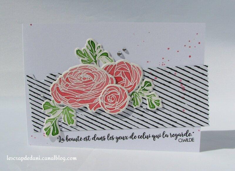 dani carte3 fleurs aquarelle rouge