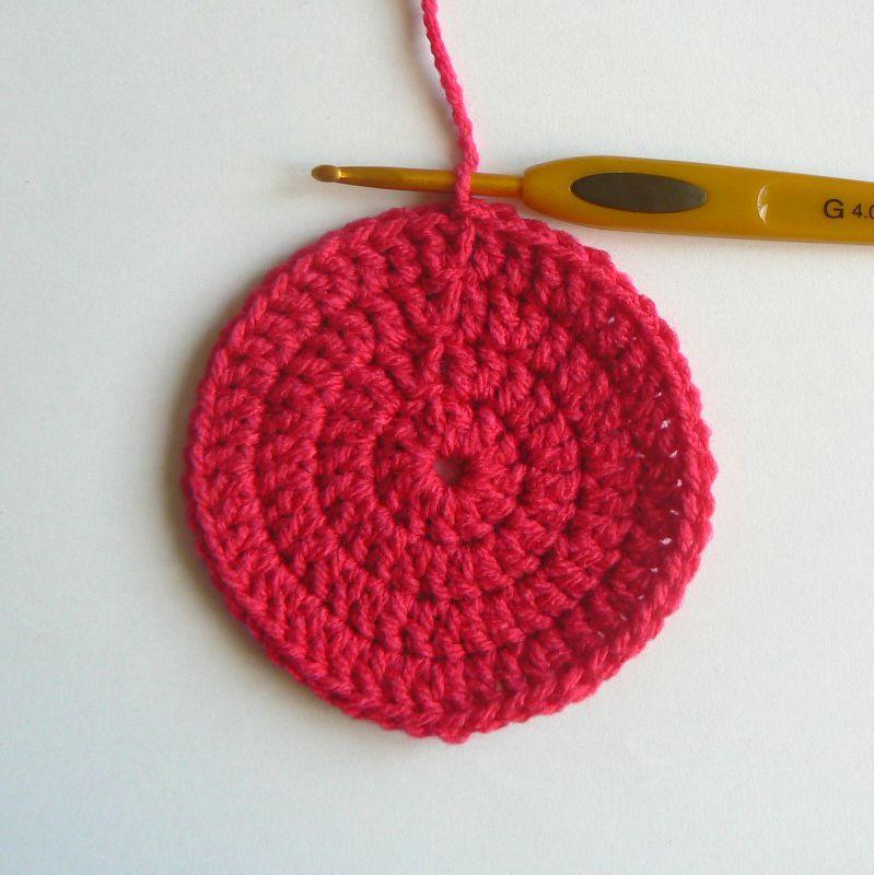 Cercle Au Crochet #9: Granny Rond Plat (8)