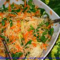 Salade d'inspiration asiatique