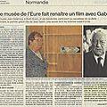 Ouest france: encore un publireportage breton dans les pages normandes...