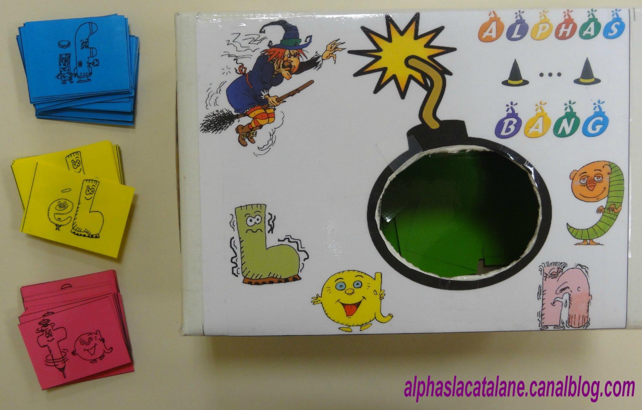 Bien connu Alphas BANG ! (jeu) - Les alphas de LaCatalane BR57