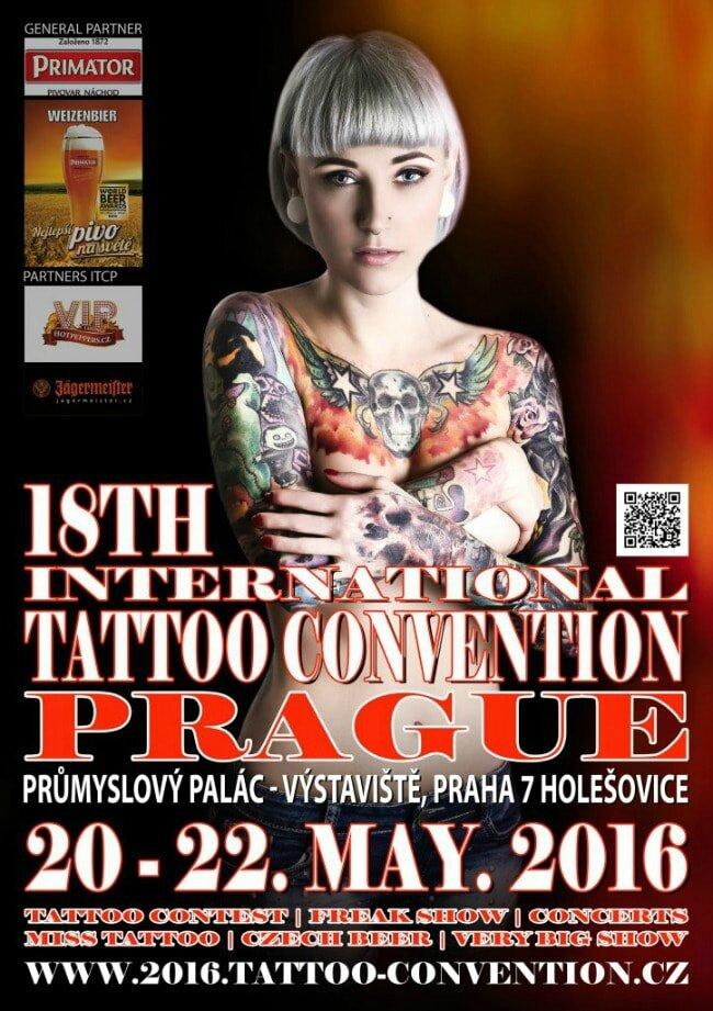 18 Tattoo Convention Prague 20 au 22 mai 2016