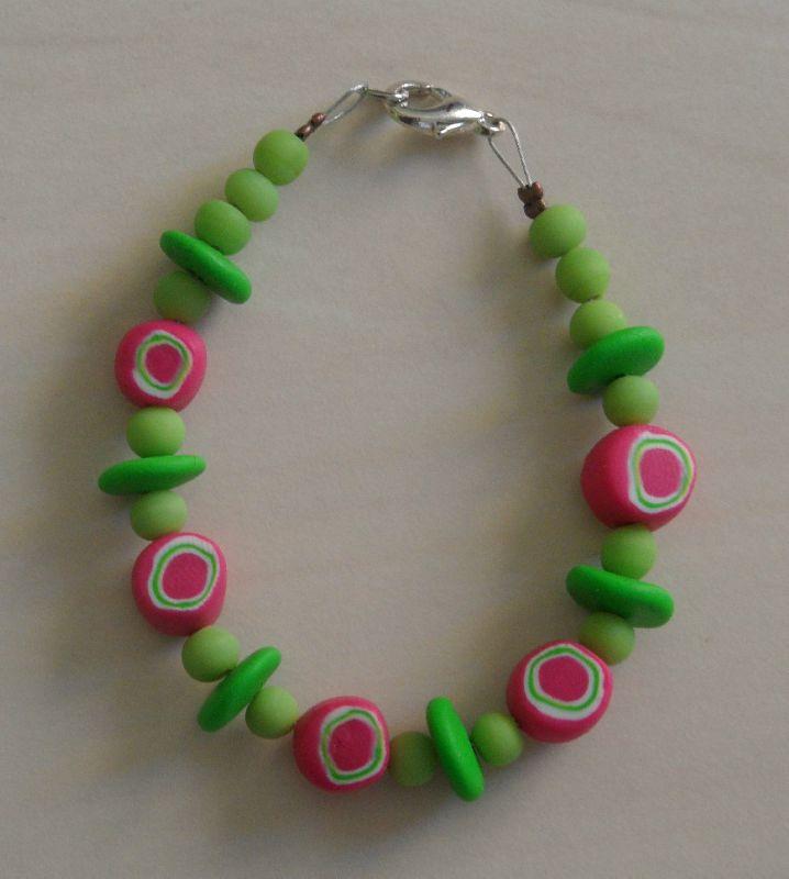 bracelet enfant Tendre anis