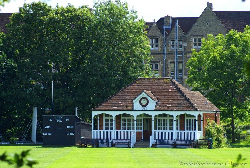Oxford cricket house