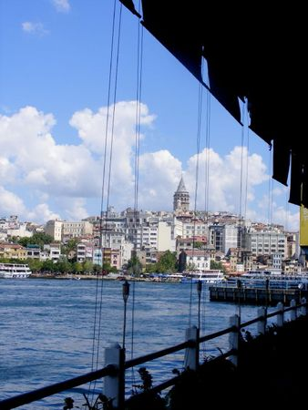 Galata Tower 05 - depuis Galate Bridge