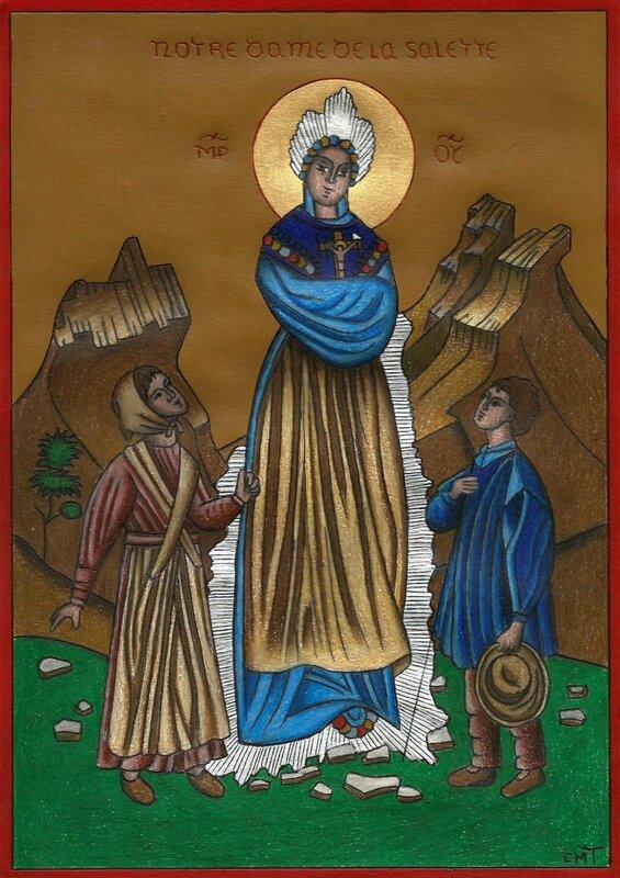 Apparition de Notre Dame de la Salette