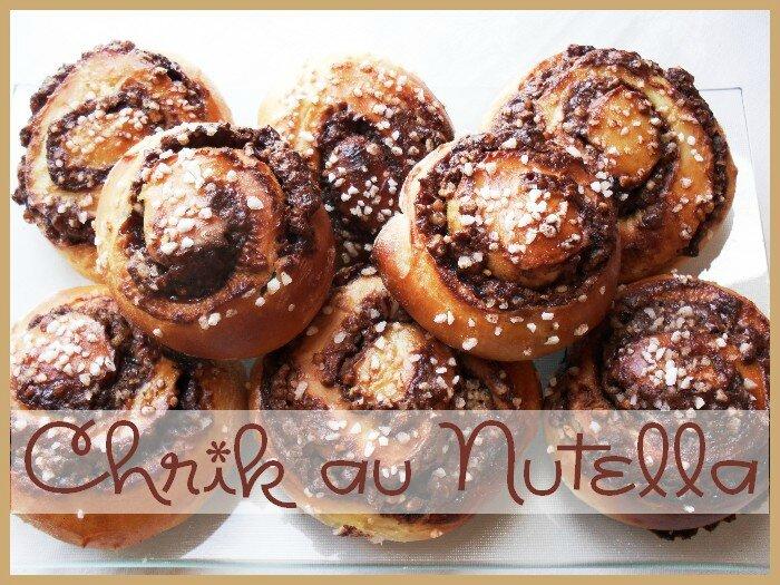 chrik au nutella et pépites de noisettes 1