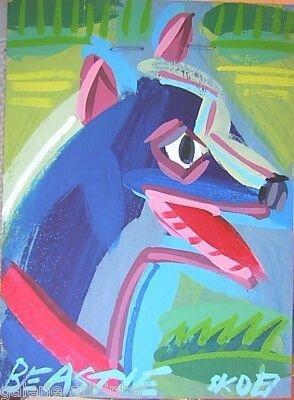 STEVE KEENE Beastie 2007 40 x 30
