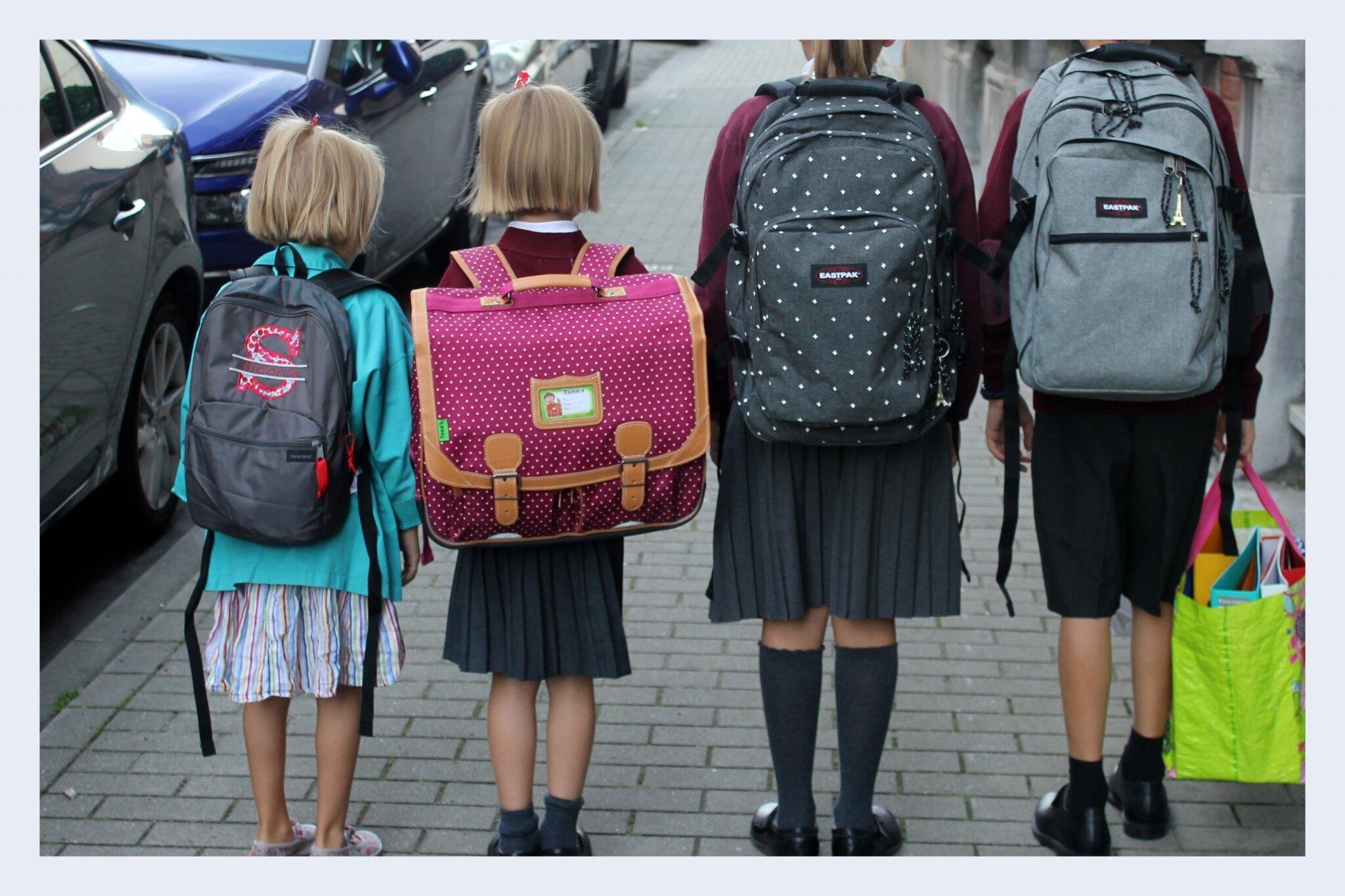 Rentrée des classes - sacs à dos