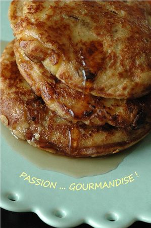 Pancakes_flocons_avoine_pomme_raisin_sec_canneberge