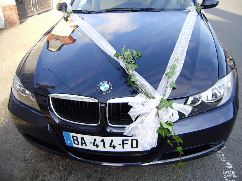 avant voiture - Photo de créations florales pour votre mariage ...