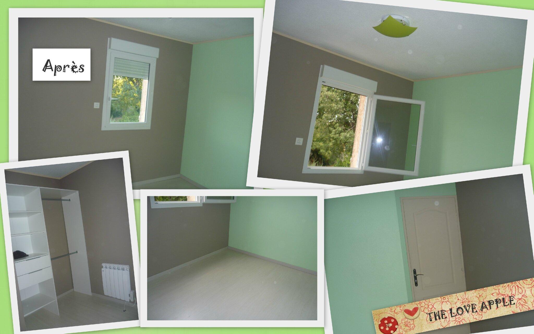 La chambre de baptiste the love apple - Idee couleur peinture chambre garcon ...