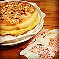 Gâteau aux amandes et au lemon curd [sev]