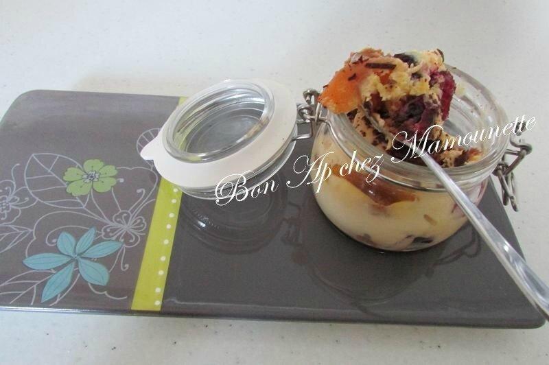 tiramisu aux cranberries et abricots moelleux aux spéculoos 042