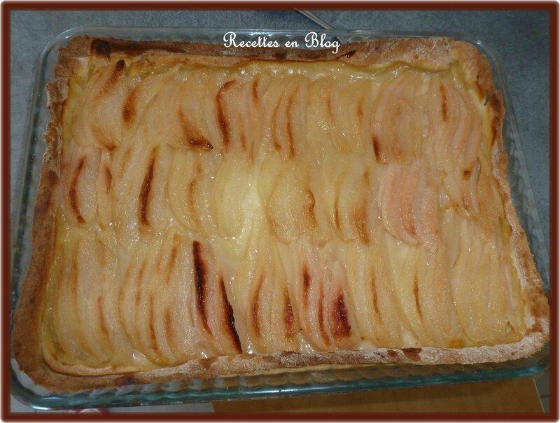 tarte aux poires1