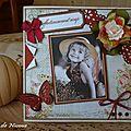 Carte de remerciement - Novembre 2011