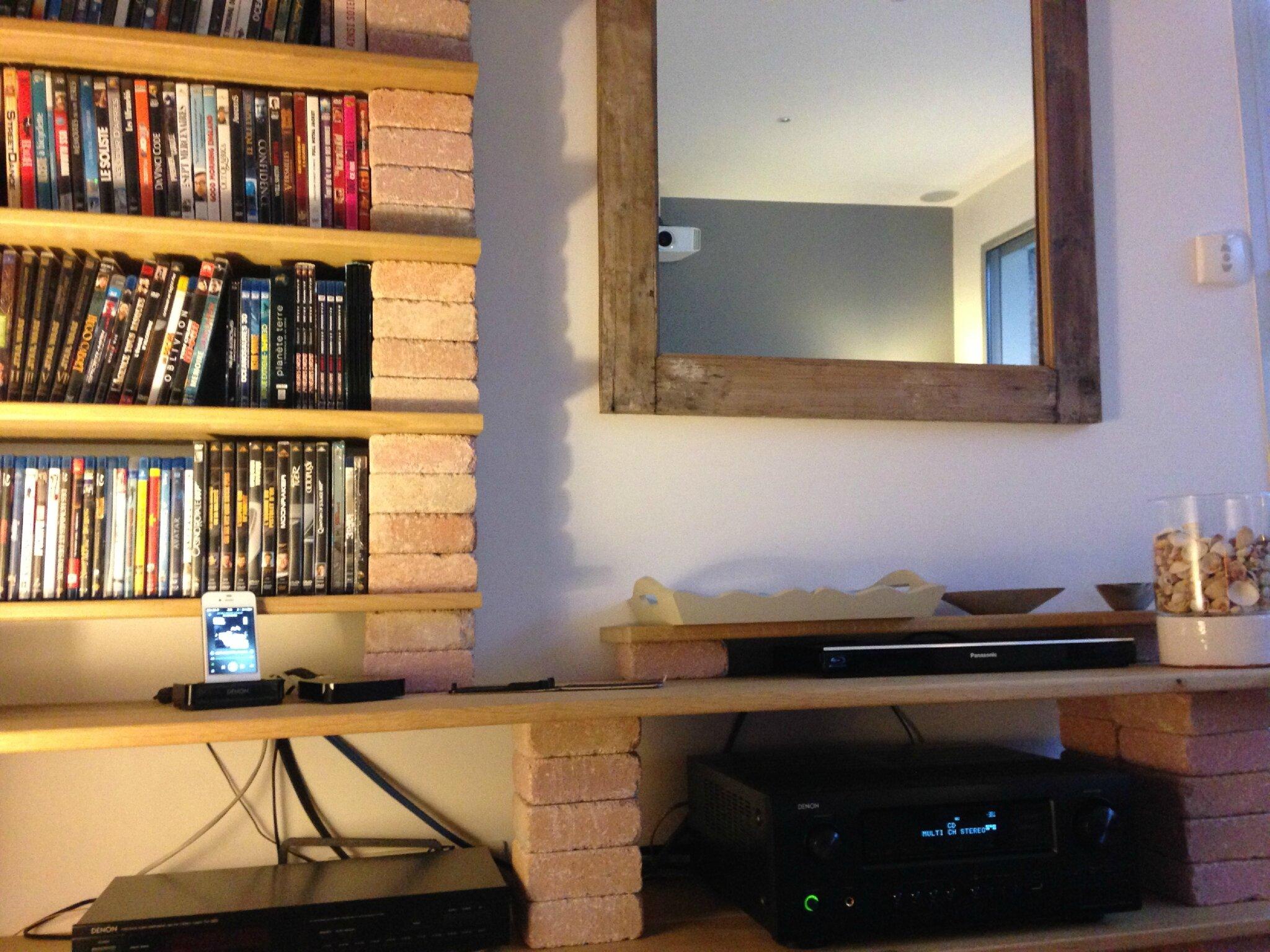 Fabuleux Une bibliothèque sur mesure à réaliser soi-même - Home and Office  PQ51