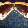 Tartelette a la banane et au chocolat
