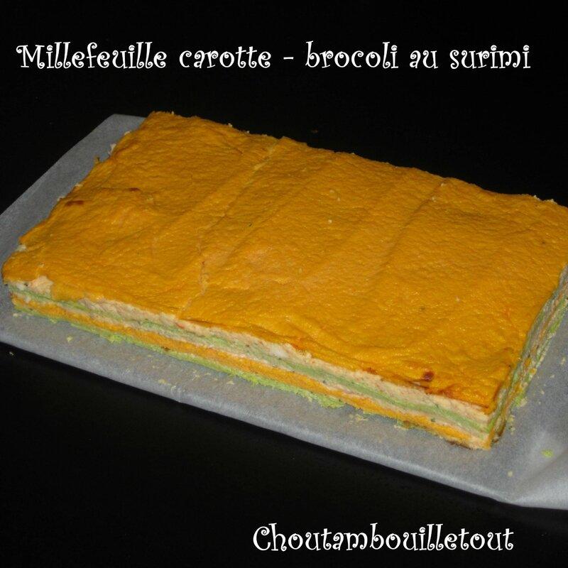 millefeuille carotte brocoli surimi (2)