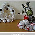 Boules de noel au crochet - petite explication inside - et décorations de noël