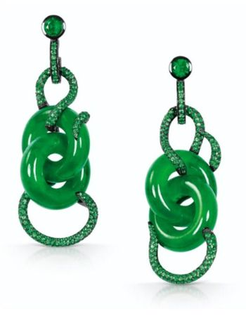 IMPORTANT_PAIR_OF_JADEITE_DOUBLE_HOOP__DIAMOND_AND_EMERALD