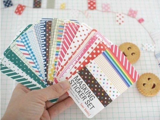 27 feuilles set basic