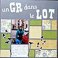 Le Gr 6 dans le lot Figeac-Souillac 1987
