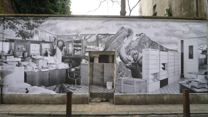 Mur rue Keyenveld