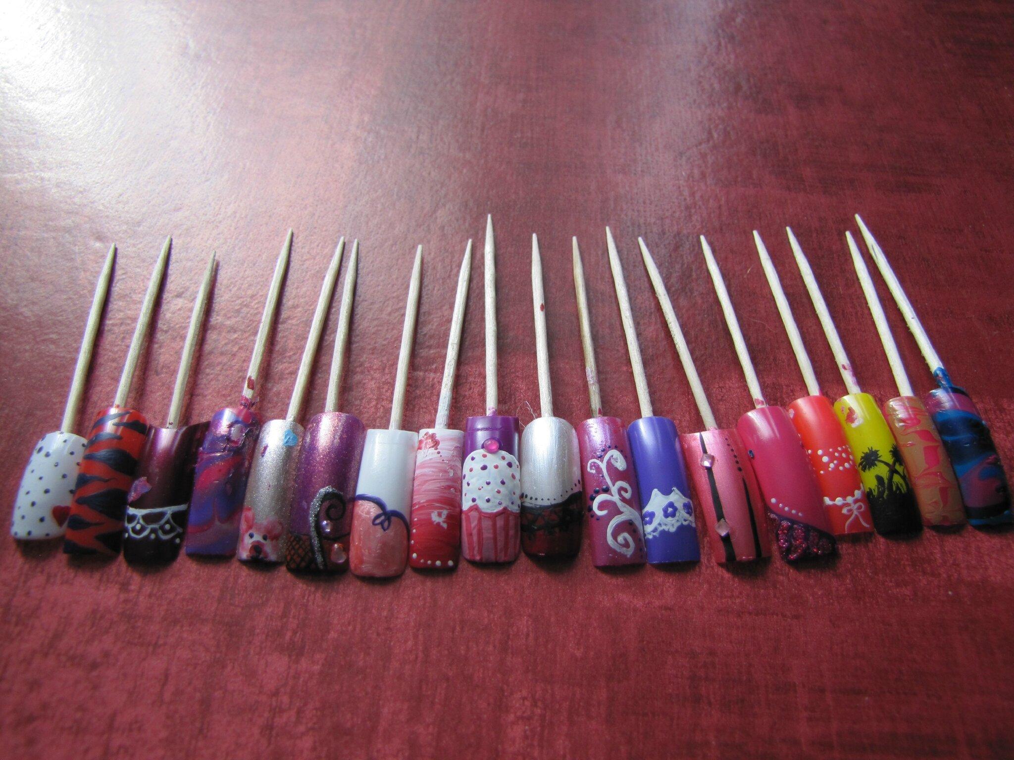 100 Modele Ongle Nail Art Vp Nails Juillet 2013