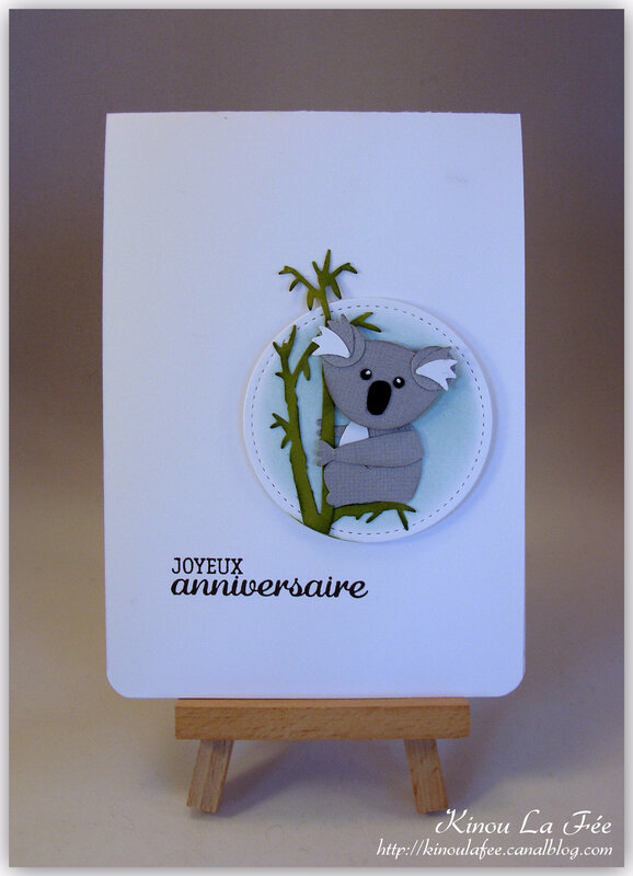 Carte Foxy Friend Koala 1