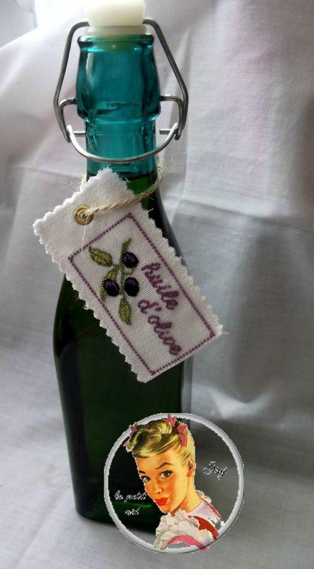 bouteillel huile d'olive