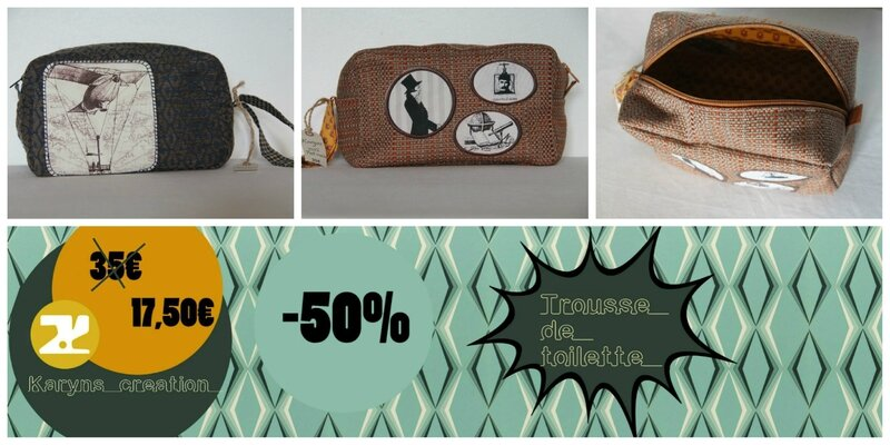 trousse de toilette soldes karyns creation